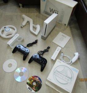 Wii nintendo +10 дисков Softmod