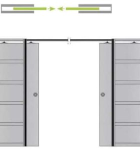 Кассеты для раздвижных межкомнатных дверей