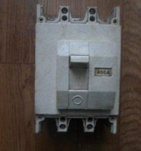 Автоматический выключатель ВА-51 на 400 ампер.