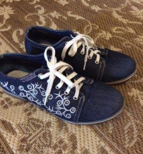 Джинсовые ботиночки