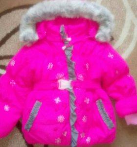 Зимняя куртка + комбинезон