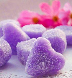 Мягкие сахарные скрабики для тела