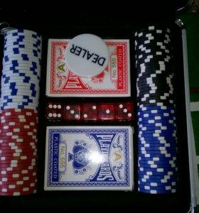 Продам набор для покера+холст