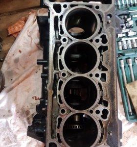 Блок двигателя skoda octavia a7 1.8 cjsa 40 000 км