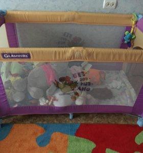 Манеж кровать Glamvers