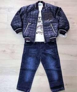 Куртка +свитшот+джинсы