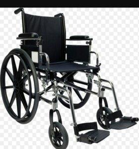 Инвалидное кресло и био туалет