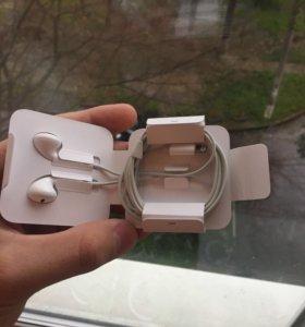 Новые наушники EarPods iPhone 7/7 plus