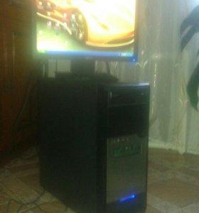 продам системный блок и монитор 17 жк