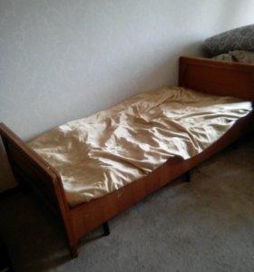 Матрас с кроватью