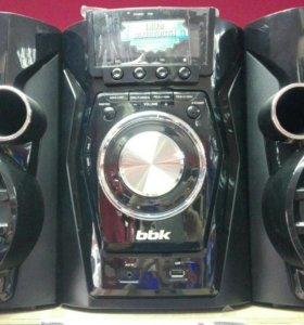 новый музыкальный центр bbk ams110bt