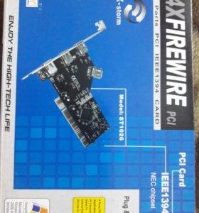 Контроллер PCI 4xFirewire