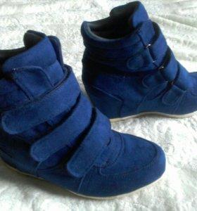 Сникерсы синие