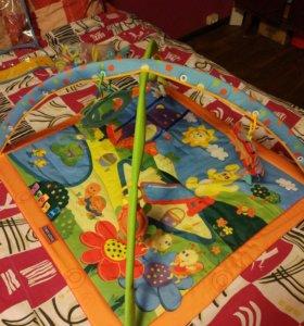 Развивающий коврик Tiny Love и 4игрушки на коляску
