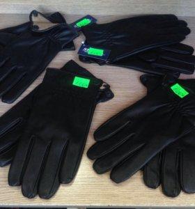 Мужские осенние перчатки новые