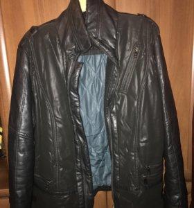 Куртка кожаная berloga