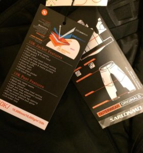 Новые мужские брюки для зимних видов спорта
