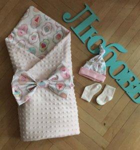 Одеялко для малыша на выписку