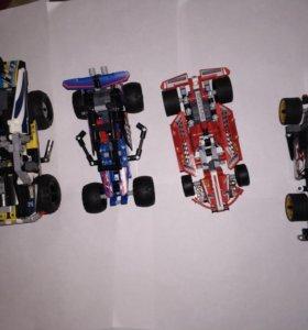 Машинки конструктор как Lego