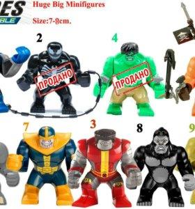 Лего герои 7-8см.