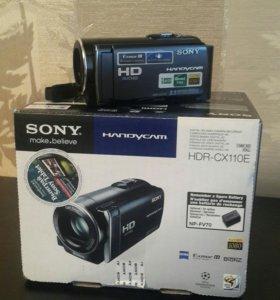 Новая видеокамера Sony handycam HDR-CX110E