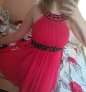 Коктейльное платье (торг)
