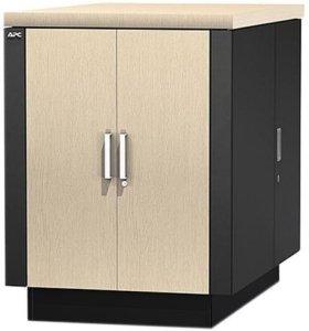 Супер тихий шкаф для серверов APC NetShelter