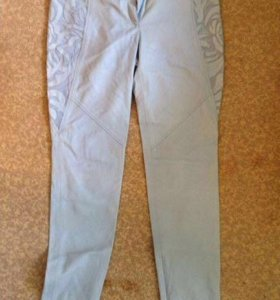 Кожаные брюки Versace
