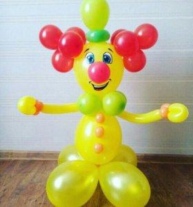 Клоун из шаров