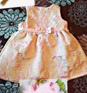 Платье H&M ,корона ,пинетки