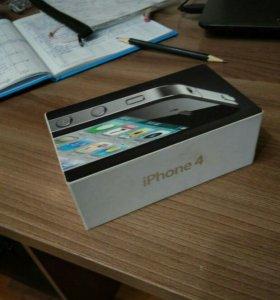 Коробка для айфона 4