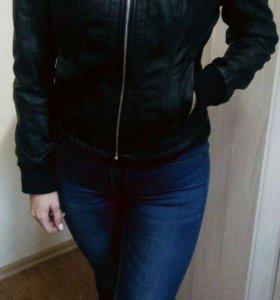 Куртка кожаная /новая