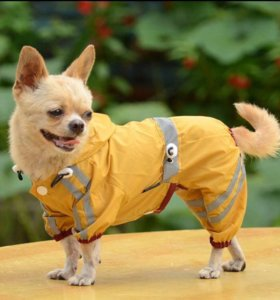 Комбенизон-дождевик на собачку