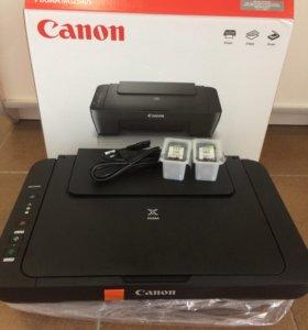 Принтер Canon 3 в 1 новый