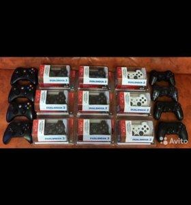 Продам без проводные контролеры для игровых приста