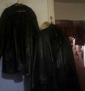 Продаю две кожаный куртки отличном состоянии