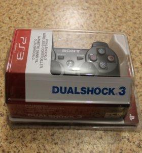 Джойстики DualShock 3 - новые.