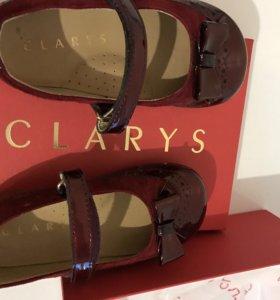 Туфельки clarys