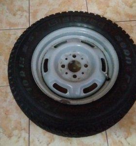 Продам 4 колеса с дисками R13 есловет