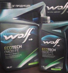 Масло моторное WOLF ECOTECH 0W20 FE 4л