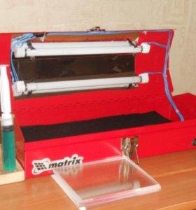 Аппарат для изготовления полимерных печатей, штамп