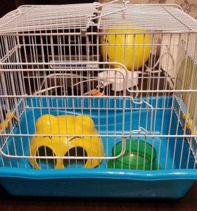 Клетка для хомяка и др. грызунов