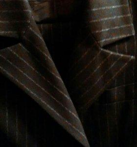 Брючный костюм, шерсть Naf Naf, 42 рр