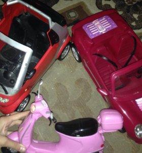 Машины для кукол