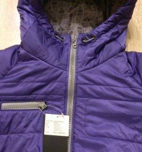 Новая демисезонная куртка р.48