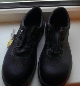 Новые Кожаные кроссовки- туфли