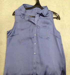 Женская блуза/блузка без рукавов