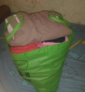 Одежда для девочки 2-4 г пакетом