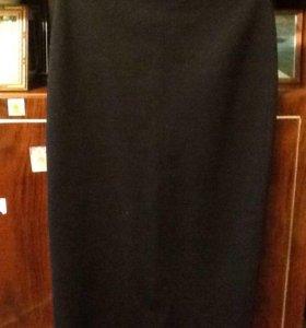 Длинная,шерстяная юбка