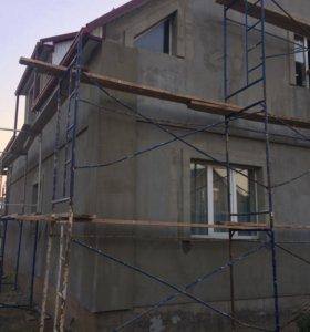 Утепление фасада короед